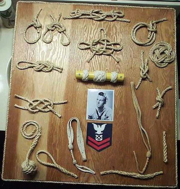 Military Personnel Fancy Rope work