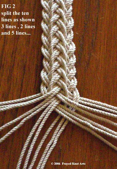 """绳编教程:""""编织的表带,包袋手柄"""" - maomao - 我随心动"""